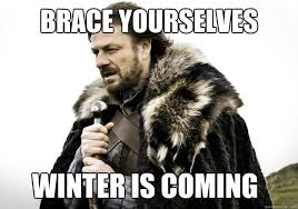 brace yourselves winter is coming - brace yourself the soccer ... via Relatably.com
