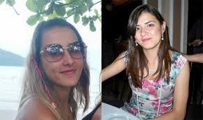 Géssica Pauline Pereira Moura, de 22 (à direita) recebeu alta hospitalar ontem, mas sua irmã Kariny Pereira Moura, de 18 anos, permaneci internada no CTI - Kariny1