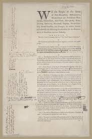 convention and ratification creating the united states printed document annotations by alexander hamilton alexander hamilton papers manuscript division library of congress 61 01 00 digital id