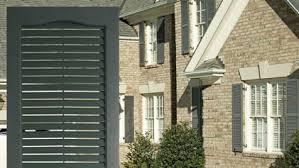 door patio window world: window world louvered exterior vinyl shutters
