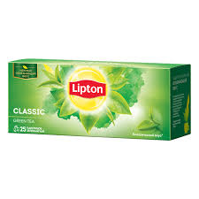 <b>Lipton зеленый чай</b> в пакетиках Classic <b>Green Tea</b>