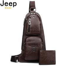 <b>JEEP BULUO</b> Brand Men Bags Cross body New Hot Crossbody ...