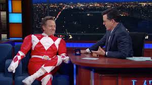 bryan cranston fulfills his lifelong dream of being a power ranger bryan cranston fulfills his lifelong dream of being a power ranger shows off his moves watch