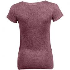<b>Футболка женская Mixed Women</b> бордовый меланж, размер M ...