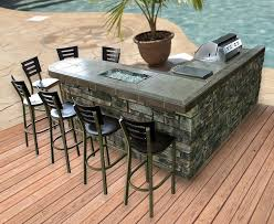patio outdoor stone kitchen bar: stone front with tile counter and bar ledge outdoor bbq kitchen islands pinterest decks backyards and islands