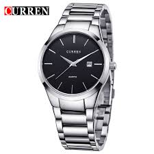 compare prices on watches michele online shopping buy low price luxury brand curren 8106 full stainless steel analog display date relogio masculino men s quartz watch business