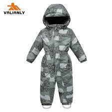 <b>2019 2019 VALIANLY</b> Kids <b>Snowsuit Winter</b> Kids Boys Ski Suit ...
