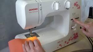 Обзор электромеханической <b>швейной машины Janome</b> MX55 ...