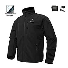 Smarkey Cordless Heated Jacket Carbon Fiber ... - Amazon.com