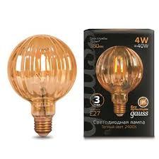 <b>Лампа Gauss LED Filament</b> G100 Baloon
