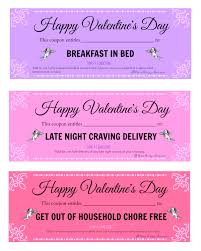 valentine s day printable love coupons