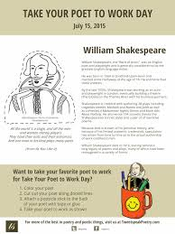 take your poet to work william shakespeare take your poet to work william shakespeare
