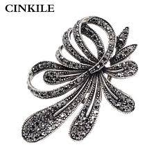 CINKILE <b>Multi color Crystal Flower</b> Brooches <b>Rhinestone</b> Brooch Pin ...