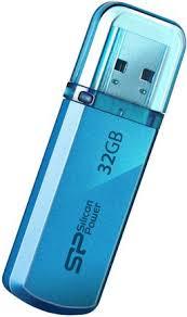 Купить <b>USB</b>-<b>накопитель Silicon Power Helios</b> 101 32GB Blue по ...