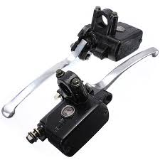 Motorcycle Hydraulic Brake Master Cylinder Left Right <b>7/8 inch</b> ...