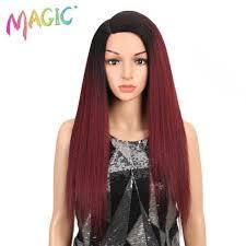 "<b>Magic Hair</b> 150% Density Women 28""Inches Lace Front <b>Wig</b> Natural ..."