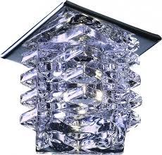 <b>Встраиваемый светильник Novotech</b> (Новотех) <b>Crystal</b> 369375 ...