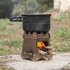 <b>Portable Folding Camping Stove</b> Outdoor Cooking Wood Burning ...