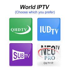 Online Shop Android Smart TV Box 4K QHDTV Code <b>SUBTV</b> Neotv ...