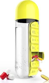 <b>Бутылка органайзер</b> Asobu In style (<b>0</b>,<b>6</b> литра) желтая, шт PB55 ...