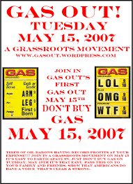 printable flyers gas out a grassroots movement flyer 2