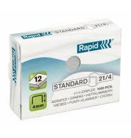 <b>Скобы для степлера</b> №21/4 <b>Rapid</b> Standard, 1000 шт/уп купить ...