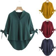 <b>ZANZEA</b> Women's <b>Plus Size</b> Long Sleeve Striped Casual Loose ...