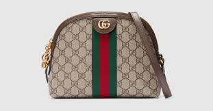 GG Supreme Ophidia <b>Small</b> Rounded Top <b>Shoulder</b> Bag   GUCCI ...
