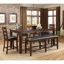 tall dining chairs counter: theo counter height dining room table and barstools set of