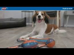 TRIXIE <b>GIGWI Игрушка</b> для собак <b>PUSH to</b> MUTE, с отключаемой ...