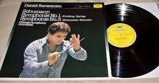 <b>Schumann</b> Symphony No.1 & 3 by Daniel Barenboim (Vinyl LP ...