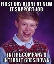 talk about a great first day alone at the new job adviceanimals talk about a great first day alone at the new job