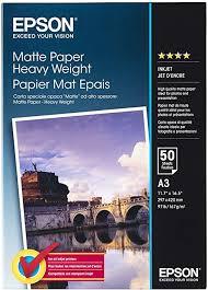 <b>Epson</b> Supplies <b>paper A3 Matte Heavyweight</b>: Amazon.co.uk ...