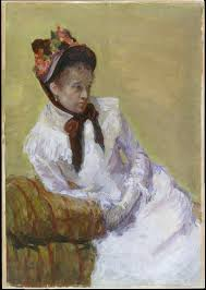 mary cassatt portrait of the artist the met share by email