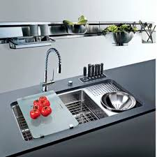 sinks kitchen funky bin