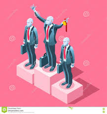 ambitious business change career ambitions vector concept stock ambitious business change career ambitions vector concept