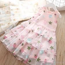 2019 Girls Dress <b>2019 Summer Children'S Sleeveless</b> Clothing ...