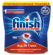 Купить <b>3065326 Таблетки</b> для посудомоечной машины <b>Finish</b> All ...