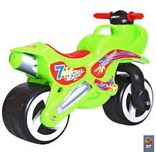 <b>Беговел 11-006</b> Motorcycle 7, зеленый от <b>RT</b>, 5489RT - купить в ...