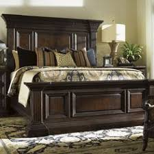 tommy bahama home island traditions sutton place pediment panel bed british colonial bedroom furniture