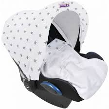 Silver Stars Dooky Hoody Replacement Infant Car Seat Hood Car ...