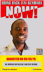 Image result for itai dzamara found dead