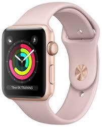 Смарт-<b>часы Apple Watch Series 3</b> 42mm Gold/rose sand <b>умные</b> ...