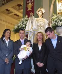 padrinos de bautismo
