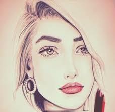 نتیجه تصویری برای نقاشی دخترونه