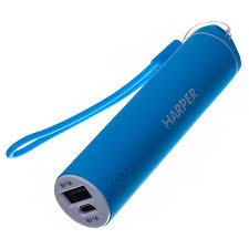 Купить <b>Внешний аккумулятор Harper PB-2602</b> Blue 2200 mAh в ...