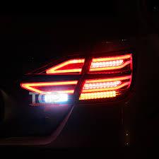 <b>Задние фонари</b> Epistar Mercedes Style для Toyota Camry V55 (7)
