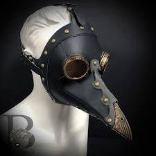 <b>Steampunk Plague</b> Doctor Bird Mask Long Nose Beak <b>Halloween</b> ...