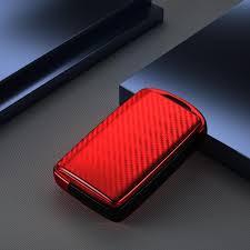 Автомобильный <b>чехол для ключей из</b> углеродного волокна для ...