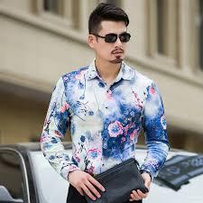 <b>MarKyi</b> 100% cotton 3d pritn floral <b>men designer</b> shirts plus size 7xl ...